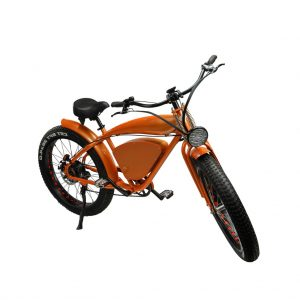 productfototografie packhshot scooters fatwheel Ebike vintage cruiser oranje 300x300 - Productfotografie van scooters