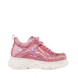 productfotografie packshot schoenen platform model lak roze 300x300 - Productfotografie van schoenen
