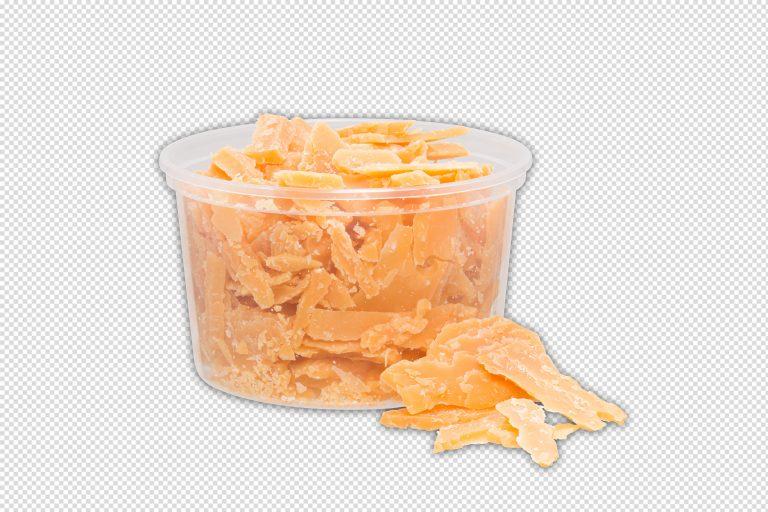 productfotografie packshot food eten kaas brokkelkaas bakje transparant geel 768x512 - food fotografie