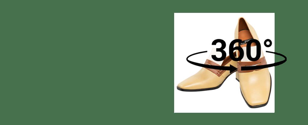 productfotografie slider schoenen 360 graden 1024x418 - Productfotografie van schoenen