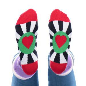 productfotografie kleding packshot sokken cupido onderkant 300x300 - Productfotografie